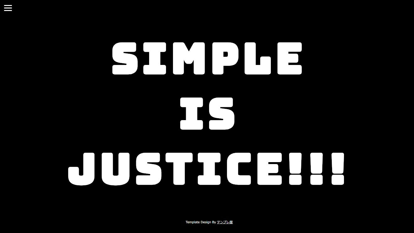 SIMPLE IS JUSTICE!!!
